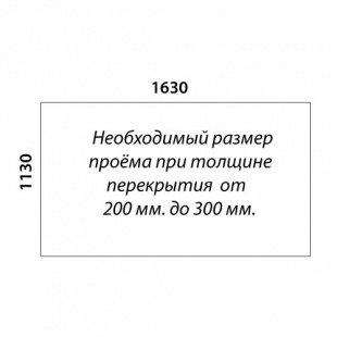 Г-образная лестница «Восток-Элегант» ГШГ-790-09