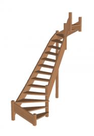 Лестница «Восток-Элегант» П2-790-10