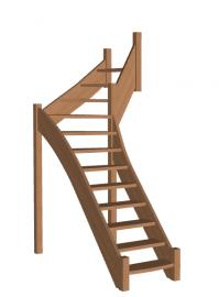 Лестница «Восток-Элегант» Г-760-42