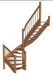 Лестница «Восток-Элегант» П-790-25