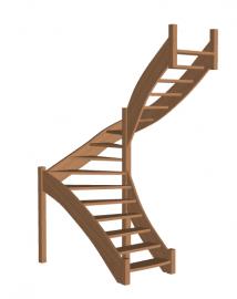 Лестница «Восток-Элегант» П-950-02