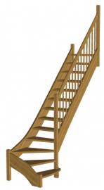 Лестница на второй этаж «Восток-Элегант» Г-790- 17
