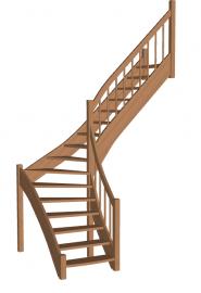 Лестница «Восток-Элегант» Г-950-37