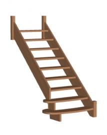 Лестница «Восток-Элегант» ПМ-790-03