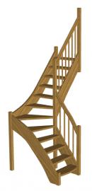 Лестниц для дачи «Восток-Элегант» Г-950-02
