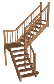 Лестница «Восток-Элегант» ПГ-950-09