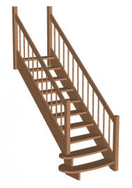 Лестница «Восток-Элегант» ПМ-790-04