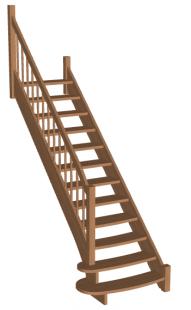 Лестница «Восток-Элегант» ПМ-950-04