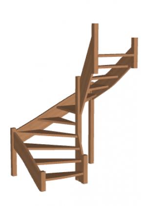 Лестница «Восток-Элегант» П-950-32