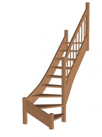 Лестница на второй этаж «Восток-Элегант» Г-790-31