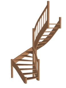 Лестница «Восток-Элегант» П-790-24
