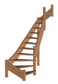 Лестница «Восток-Элегант» П2-790-02