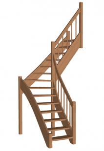 Лестница «Восток-Элегант» Г-760-35