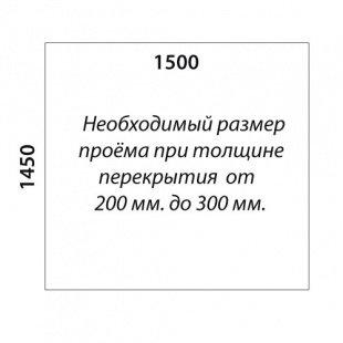 П-образная лестница «Восток-Элегант» П-790-13