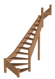 Лестница «Восток-Элегант» П2-790-03