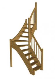 Лестница «Восток-Элегант» Г-760-24