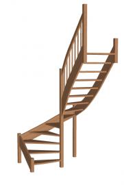 Лестница «Восток-Элегант» П-950-20