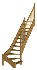 Лестница  «Восток-Элегант» Г-790-16