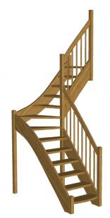 Лестница для дома «Восток-Элегант» Г-950-22