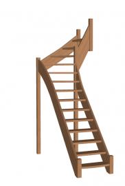 Г-образная лестница «Восток-Элегант» Г-760-32