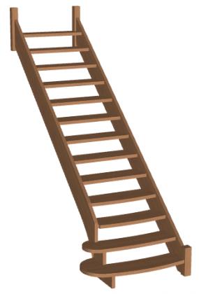 Лестница «Восток-Элегант» ПМ-790-01