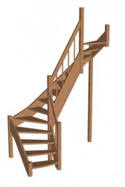 Лестница «Восток-Элегант» П2-790-18