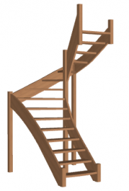 Лестница для дома «Восток-Элегант» П-790-23
