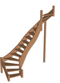 Лестница «Восток-Элегант» П2-790-24