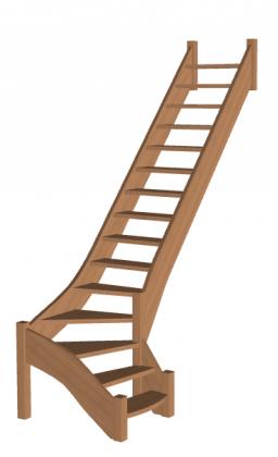 Лестница на второй этаж «Восток-Элегант» Г-790-26
