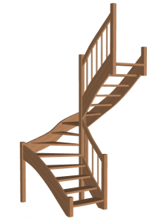 П-образная лестница «Восток-Элегант» П-790-14