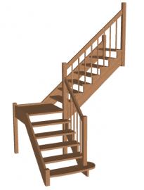 Лестница с площадкой «Восток-Элегант» ПГ-950-05