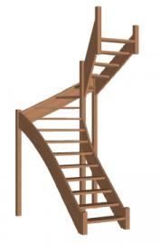 Лестница «Восток-Элегант» П-950-26