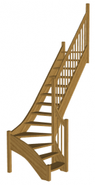 Лестница «Восток-Элегант» Г-760-20