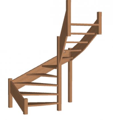 Лестница «Восток-Элегант» П-950-29