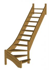 Г-образная лестница «Восток-Элегант» Г-790- 16