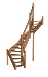 Лестница «Восток-Элегант» П2-790-31