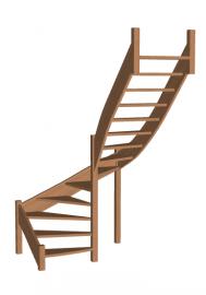 Лестница для дачи «Восток-Элегант» П-790-20