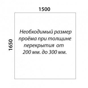 П-образная лестница «Восток-Элегант» П-790-17