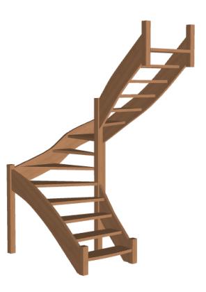 Лестница «Восток-Элегант» П-950-08