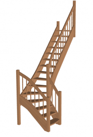 Лестница «Восток-Элегант» Г-790-36