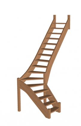 Лестница «Восток-Элегант» Г-790-50