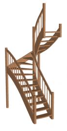 Лестница «Восток-Элегант» П-950-33