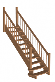 Лестница «Восток-Элегант» ПМ-790-02