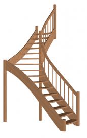 Лестница «Восток-Элегант» Г-950-44