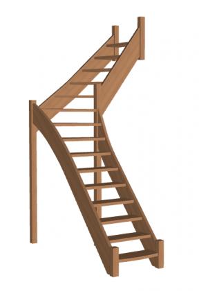 Лестница «Восток-Элегант» Г-760-43