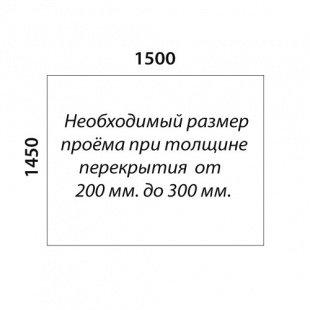 П-образная лестница «Восток-Элегант» П-790-08