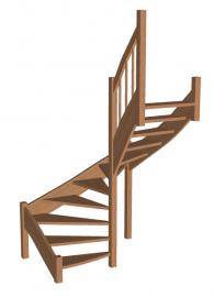 Лестница «Восток-Элегант» П-790-19