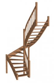 Лестница «Восток-Элегант» П-950-31