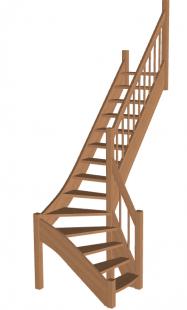 Лестница «Восток-Элегант» Г-760-30