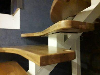 Ступени на моно косоуре Аропаккузи для готовых лестниц